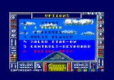 Battleship Amstrad CPC Main menu