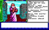 Dragon Wars DOS Omnious Fellow - There's no way to kill this guy...he just runs off