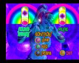 Pandemonium 2 PlayStation Groovy options menu