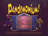 Pandemonium! PlayStation Title screen