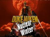 Duke: Nuclear Winter DOS Modified expansion title screen.