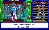 Dragon Wars DOS Your first encounter with Namtar.