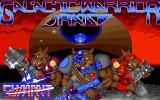 Galactic Warrior Rats DOS Title screen