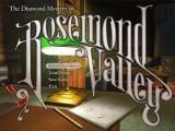 The Diamond Mystery of Rosemond Valley Windows Title screen and options menu