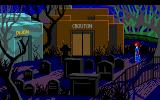 The Colonel's Bequest Atari ST Graveyard - spooky!