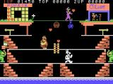 Popeye ColecoVision Collect hearts on the first level