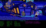 The Secret of Monkey Island Atari ST City streets.