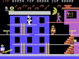 Popeye ColecoVision The second level