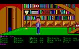 Maniac Mansion Atari ST The library.