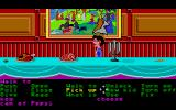 Maniac Mansion Atari ST Dining room complete with rotting food.