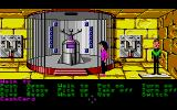 Zak McKracken and the Alien Mindbenders Atari ST Zak and Annie together in a secret chamber.