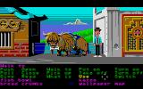 Zak McKracken and the Alien Mindbenders Atari ST Zak and a yak in Nepal.