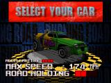 Burning Road PlayStation Nitro car