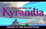 The Legend of Kyrandia Amiga Title Screen