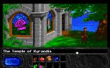 The Legend of Kyrandia Amiga Outside the chapel.