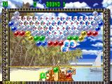 Bust-A-Move 2: Arcade Edition DOS Puzzle mode start