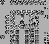 Ultima: Runes of Virtue Game Boy About to step in one Sokoban riddle