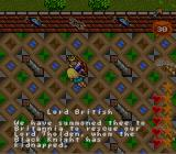 Ultima: Runes of Virtue II SNES We get instructions by Lord British