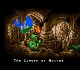 Ultima: Runes of Virtue II SNES Entering a cave