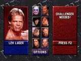 WWF WrestleMania DOS Lex Luger - The All American Hero