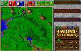 Castles II: Siege & Conquest Amiga CD32 Map of the land.