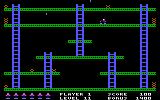 Jumpman PC Booter The bombs move on this level! (PCjr)