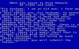 King's Quest PC Booter The King's Quest hence the name of the game! (Original PCjr release)