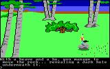 King's Quest PC Booter What's under this rock? (Original PCjr release)