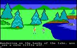 King's Quest PC Booter A little elf - do you make cookies? (Original PCjr release)