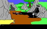 King's Quest II: Romancing the Throne PC Booter The Batmobile! (PCjr)