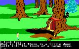 King's Quest II: Romancing the Throne PC Booter A tree house. (PCjr)