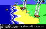 King's Quest II: Romancing the Throne PC Booter Clam. (PCjr)