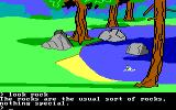King's Quest II: Romancing the Throne PC Booter Swimming. (PCjr)