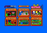 Fun School 4: For 5 to 7 Year Olds Amstrad CPC Main menu