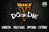 Mike V: Do or Die iPhone Main Menu