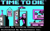 Borrowed Time PC Booter Title screen (CGA)