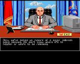 Sid Meier's Covert Action Amiga Your boss gives you a mission.