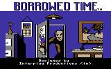 Borrowed Time Commodore 64 Title screen