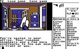 Borrowed Time Commodore 64 The start of the game