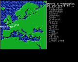 Sid Meier's Covert Action Amiga Airport map. Choose where you want to go next.