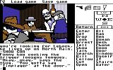 Borrowed Time Commodore 64 Some interesting characters here...
