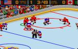 World Hockey 95 DOS US against Canada