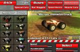 Crashdrive 3D Browser The game's garage, here you can unlock and select all 50+ cars