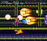 Sparkster SNES One of the harder level bosses