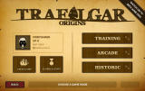 Trafalgar Origins Browser Main menu