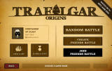 Trafalgar Origins Browser Multiplayer menu
