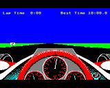 Revs BBC Micro Starting a practice run