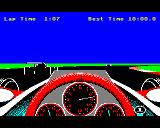 Revs BBC Micro In pursuit of two cars