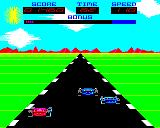 Overdrive BBC Micro Overtaking some cars