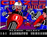 Crazee Rider BBC Micro Choose between the two versions